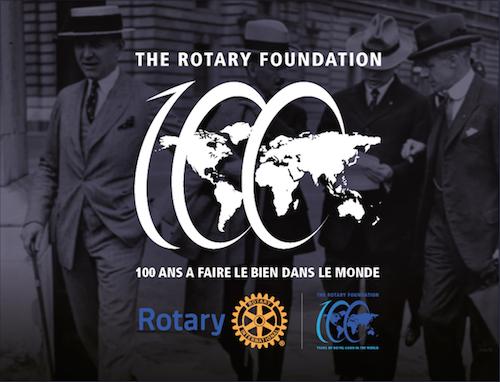 Les 100 ans de la Fondation Rotary